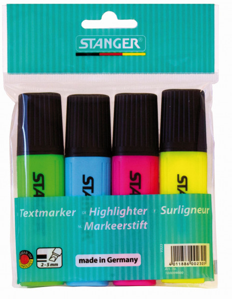 Highlighter Classic 1-5 mm (set of 4)