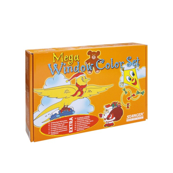 Window Color Set Mega Herbst (8 x 80 ml)
