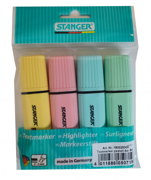 Highlighter classic pastel 1 - 5 mm