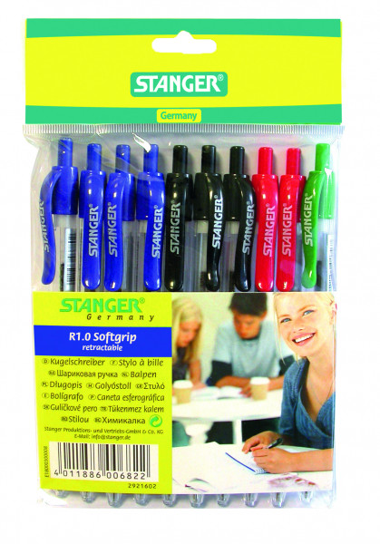 Ball point pen R1.0 (set of 10)