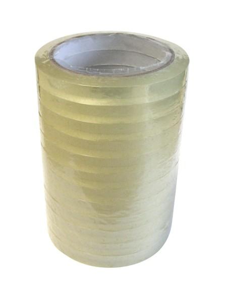 Klebefilme 12 mm x 66 m (12 Stück)