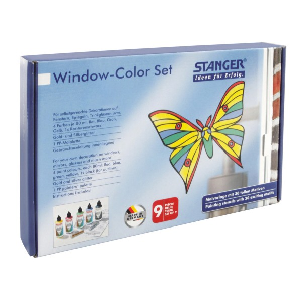 Window Color Set Schmetterlinge (5 x 80 ml)
