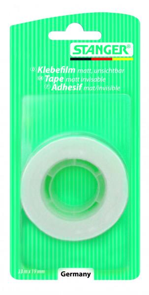 Klebefilm, matt-unsichtbar, beschriftbar